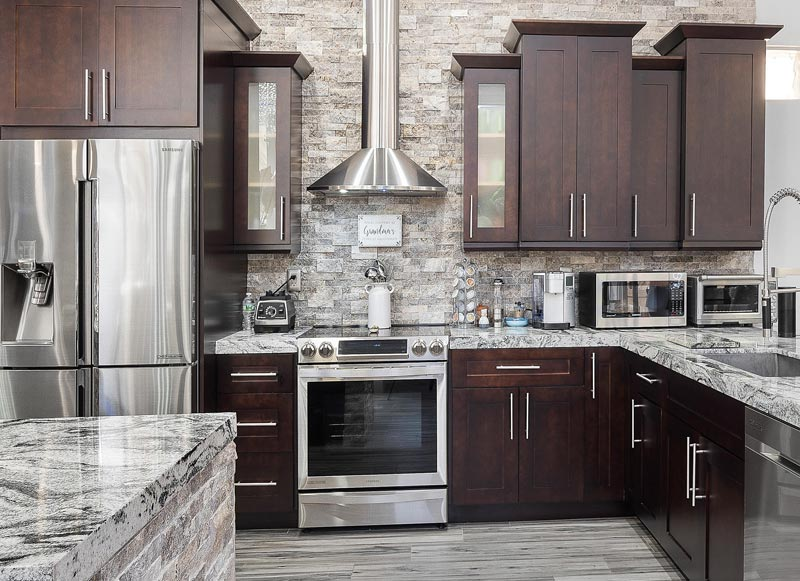 Benefits Of Dark Kitchen Cabinetry Trends Wood Finishing