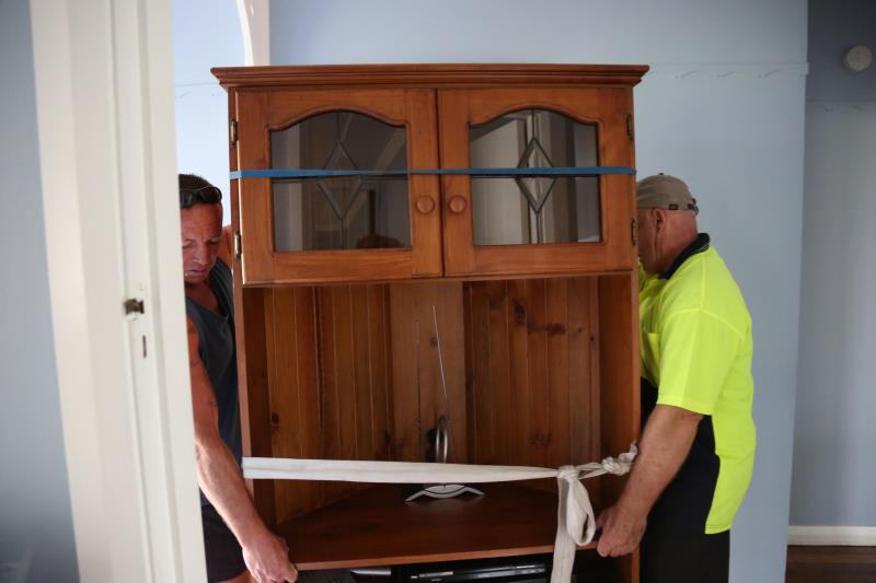 moving old cabinets