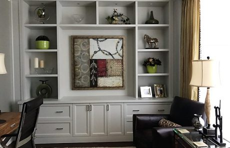 Entertainment wooden cabinetry