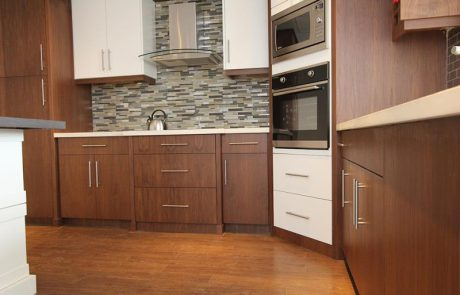 hardwood cabinetry