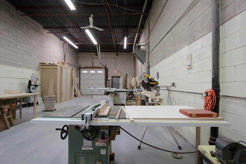 table saw shop