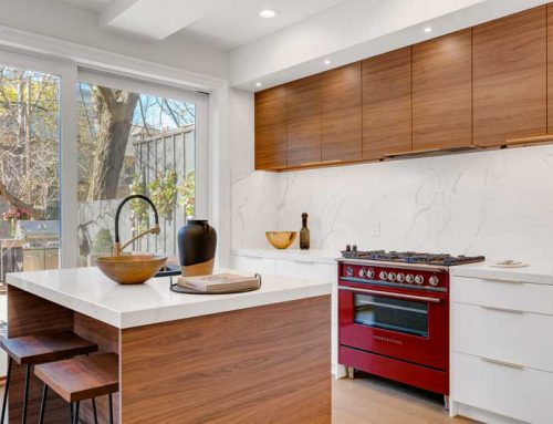 Wood and White Kitchens