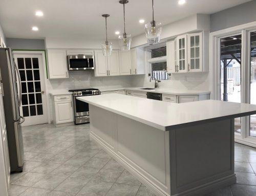 What is the most popular colour for kitchen cabinets?